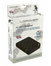 LC Power Külső 2,5'' LC-25U3 - Shockproof HDD ház