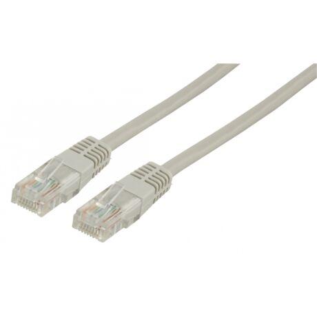 Patch kábel UTP CAT5e 10m szürke