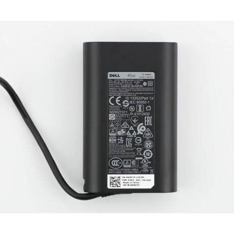 Dell slim 45W AC adapter  20V 2.25A USB-C (Type-C)