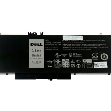 Dell Akkumulátor G5M10 4 cellás 51Wh (Latitude E5450 / E5550)