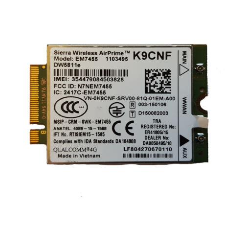 Dell Wireless 5811e LTE Mobile Broadband Kártya