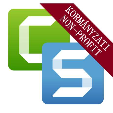 Camtasia/Snagit Bundle-21 - Kormányzati/Non-profit szervezet (1-4 licenc)